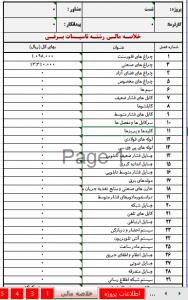 فهرست بهای برق 97 اکسل - برنامه محاسباتی فهرست بهای برق
