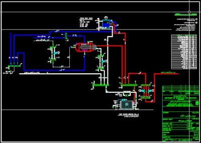 نقشه اتوکد تاسیسات برق و مکانیک مدرسه شش کلاسه با استاندارد توسعه و تجهیز مدارس