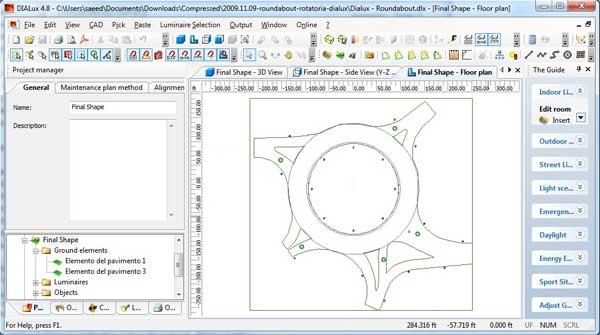 نرم افزار DIALux نرم افزار محاسبات روشنایی : نرم افزار Dialux یک نرم افزار فنی مهندسی رایگان برای طراحی نورپردازی فضاهای داخلی و خارجی ساختمان ها است.