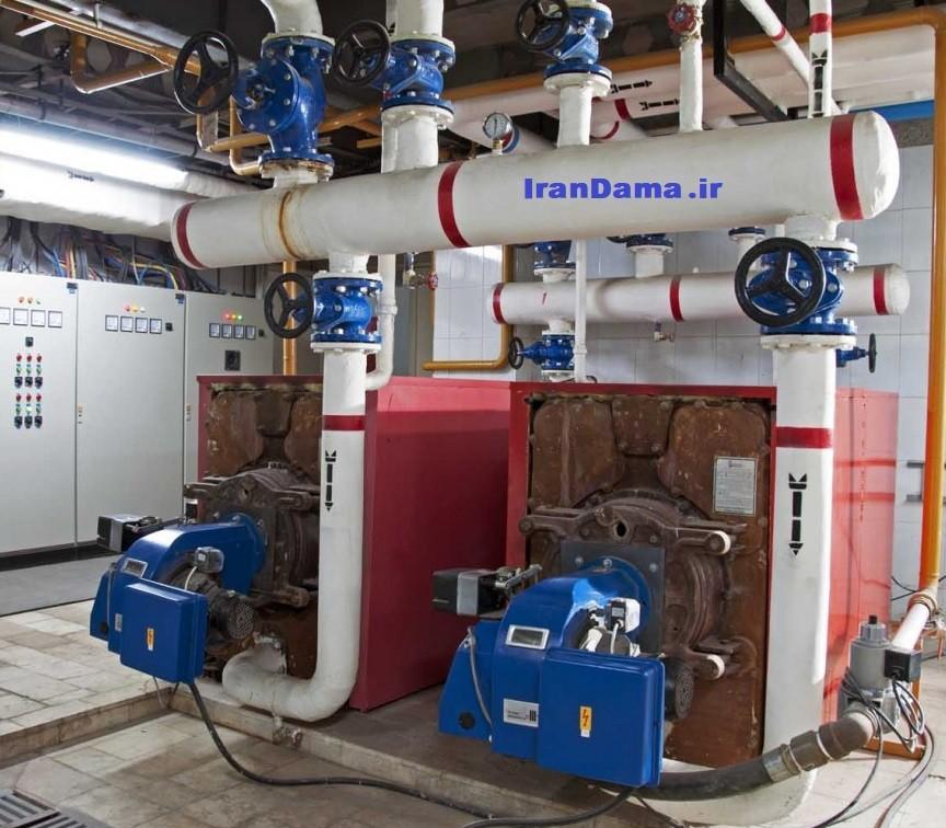 اجزا و محاسبات سیستم های حرارت مرکزی