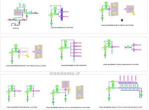رطوبت ساز بخار پرکاربرترین سیستم برای افزایش رطوبت هوای توزیعشده هواساز و در صنایع مختلف است دانلود فایل اتوکد جزئیات رطوبت زن Humidifier