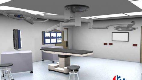 نقشه برق اتاق عمل بیمارستان