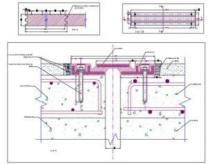 فایل اتوکد معماری ، سازه و برقرسانی به یک تقاطع غیر همسطح