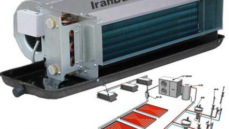 بررسی سیستم فن کویل مورد استفاده در سرمایش و تهویه مطبوع